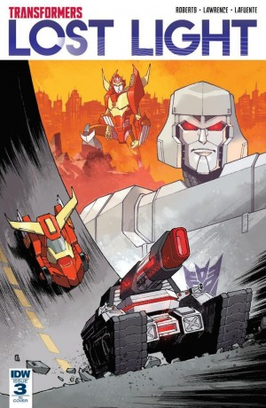 Review of IDW Transformers: Lost Light #3