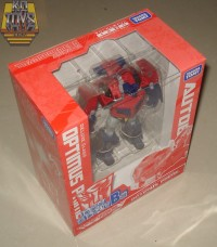 In-Package Images of Family Mart Prize B - Animated Earth Mode Optimus Prime
