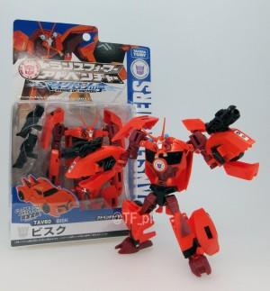Transformers News: New Image - Takara Tomy Transformers Adventure TAV 60 Bisk