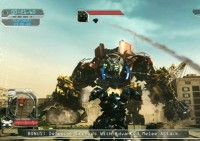 Transformers News: Transformers ROTF Video Game Walk Through Footage