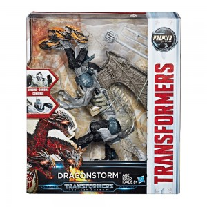 Video Reviews for Transformers: The Last Knight Leader Dragonstorm, Deluxe Bumblebee and Crosshairs