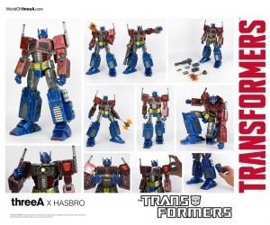 Transformers News: Hasbro 3A Transformers Generation 1 Line Optimus Prime Revealed