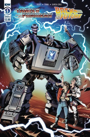 IDW Transformers / Back to the Future #1 Review