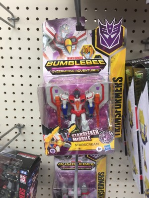 Transformers News: Transformers Cyberverse Hammerbyte and Cybertronian Starscream Found at US Walmart