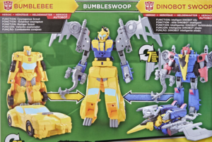 Transformers Cyberverse Slugtron and Bumbleswoop Combiners Revealed