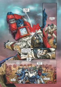 Transformers News: Transformers: Regeneration One #85 Creator Commentary with Andrew Wildman