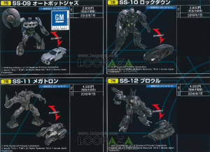 Transformers News: Stock Images of Finished Products for Studio Series Megatron, Jazz, Lockdown and Brawl