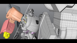 Transformers News: Animation VFX Breakdown for Bily Y Maik Transformers Commercial