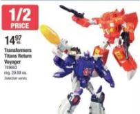 Transformers News: 25% - 50% Off Transformers at Toys R us Canada for 10 Days