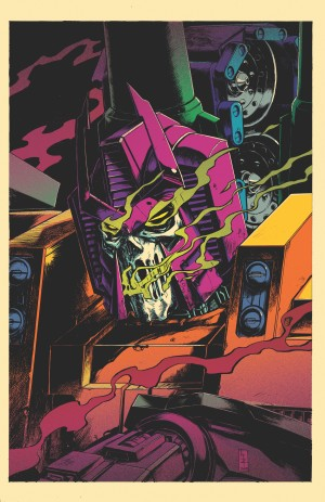 Main Cover Art for IDW Optimus Prime #14 by Kei Zama / Josh Burcham