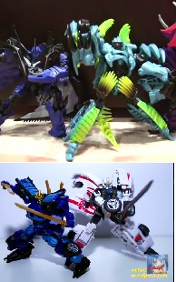 Transformers News: Age Of Extinction Deluxe Figures Drift And Slash Video Reviews
