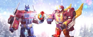 Transformers News: Holiday Message and Gift from Transformers: Earth Wars