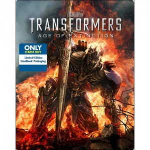 Transformers News: Transformers: Age of Extinction Steelbook Best Buy Exclusive