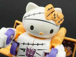 Transformers News: New Galleries: Q-Transformers QTC-01H Hello Kitty Halloween Edition, QTC-05 Snoopy, QTC-06 My Melody