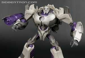 Transformers News: New Galleries: Transformers Prime First Edition Takara Tomy Megatron, Arcee, and Hasbro Cliffjumper