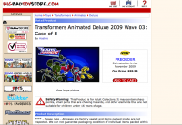 Transformers News: BigBadToyStore Update- 8-21- TFA Repaint Pre-Orders, RPM's, and MORE!