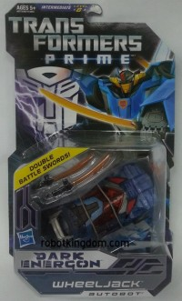 Transformers News: In-Package Images: Exclusive Transformers Prime Dark Energon Deluxes