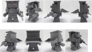 The Loyal Subjects Constructicon Scrapper - Sneak Peak at Wave 3
