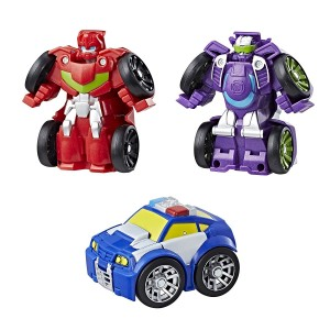 Transformers Rescue Bots Flip Racers Griffin Rock Racing and Construction Team Available Online