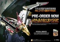Transformers News: Play.com Transformers: Fall of Cybertron Pre-Order Exclusive Swoop Multiplayer Character Download