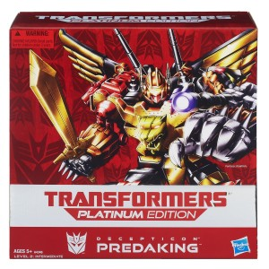 Transformers News: Lightning Deal on Platinum Preadaking on Amazon Ends in Half an Hour