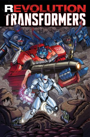 Amazon Listings - IDW Revolution and Revolution: Transformers TPBs in February 2017