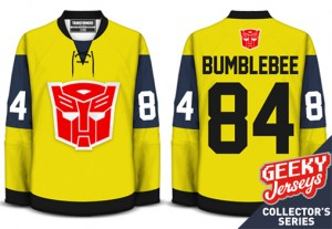 Transformers News: Transformers Bumblebee Movie Limited Edition Jerseys Now Available