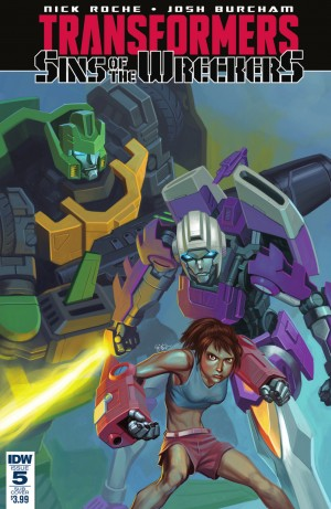 Transformers News: IDW Transformers: Sins of the Wreckers #5 Full Preview (Final Issue)