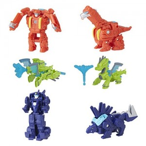 Next Wave of Transformers Rescue Bots Mini-Cons Revealed with Green Drake