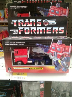 Transformers News: Walmart G1 Optimus Prime Reissue Lowered to $49 in Canada