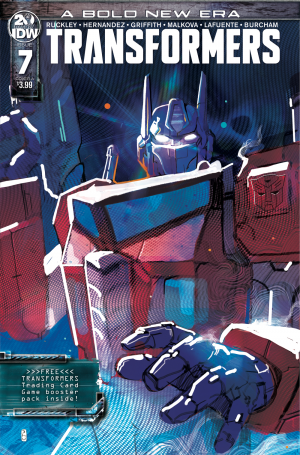 Transformers News: IDW Transformers - New Covers for Issues 7 and 8