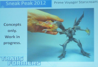 Transformers News: Takara Transformers Prime release info for Voyager Starscream and others!