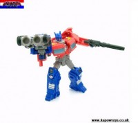 Transformers News: Pictorial Review: Transformers Generations Legends Class Optimus Prime with Roller