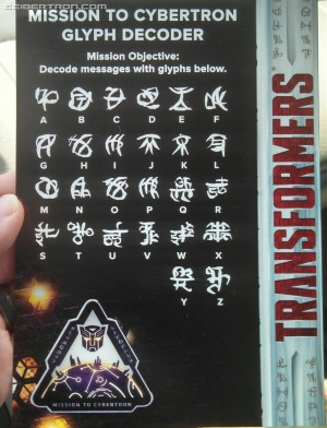 Transformers News: The Last Knight TRU exclusive Mission to Cybertron Glyph Decoder