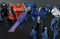 Transformers News: New Transformers Cyberverse galleries: Evac, Breakdown, Mirage, and Soundwave