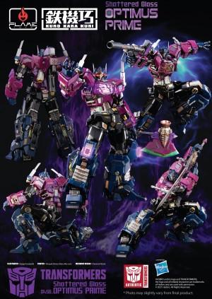 Flame Toys Announce Kuro Kara Kuri Shattered Glass Optimus Prime