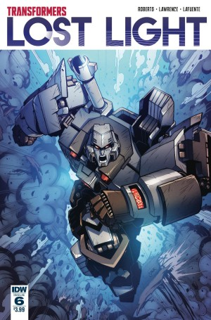 Review of IDW Transformers: Lost Light #6