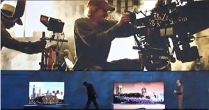 Transformers News: Michael Bay's Teleprompter Woes Reveal An Upcoming TF4 Event With Samsung