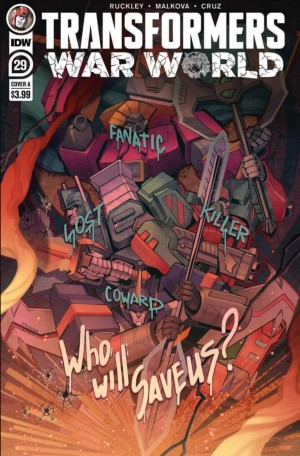 Five Page Preview of IDW'S Transformers #29