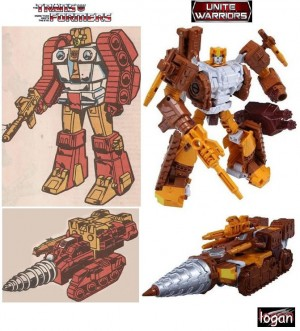 Comparisons Between Transformers Combiner Wars and Unite Warriors Computron with Animation and Comic Designs