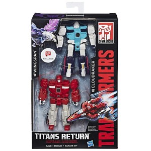 Transformers News: Placeholder Listing for Transformers Titans Return Cloudraker and Wingspan Set on Walgreens.com