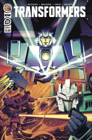 Five Page Preview of IDW Transformers #35
