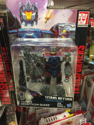 Transformers News: Transformers Titans Return Quake Sighted at Australian Retail and Wave 4 Rumors