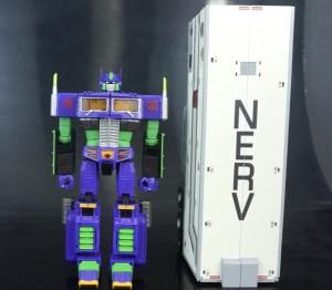 Transformers News: Video Review - Takara Tomy Transformers Masterpiece / Neon Genesis Evangelion MP10 'Eva' Mode Convoy