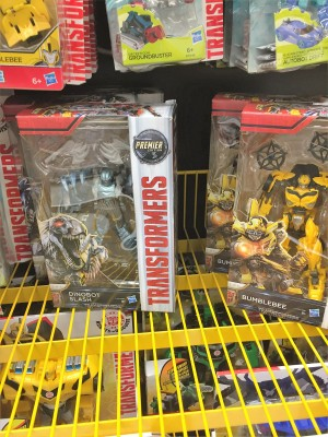 Transformers: The Last Knight Deluxe Class Toys Found at Norwegian Retail