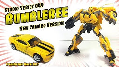 Transformers News: Video Review for Studio Series 49 Bumblebee Deluxe Camaro
