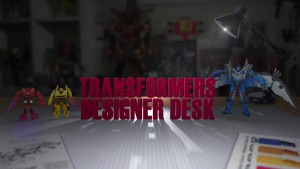 Transformers Age of Extinction Demo Videos and Designer Desk - Stomp'n'Chomp Grimlock, Showdown Collection, ConstructBot, Mega One-Step Bumblebee