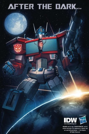 Transformers News: IDW Transformers: Dawn of the Autobots Teaser Image
