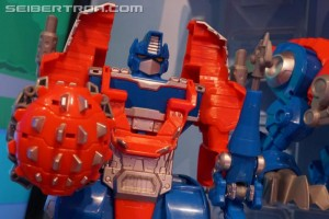 Transformers: Rescue Bots Knight Watch Optimus Prime in Stock at HTS.com