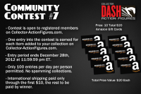 Transformers News: DASH is Giving Away Amazon Gift Cards